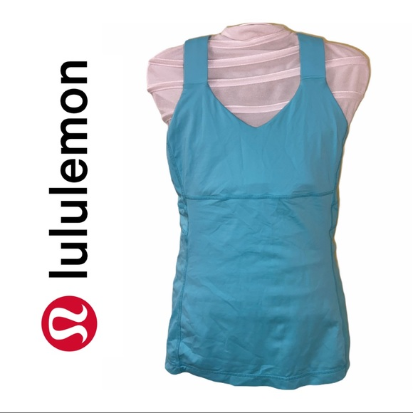 Lululemon Aqua Swift Tank Top